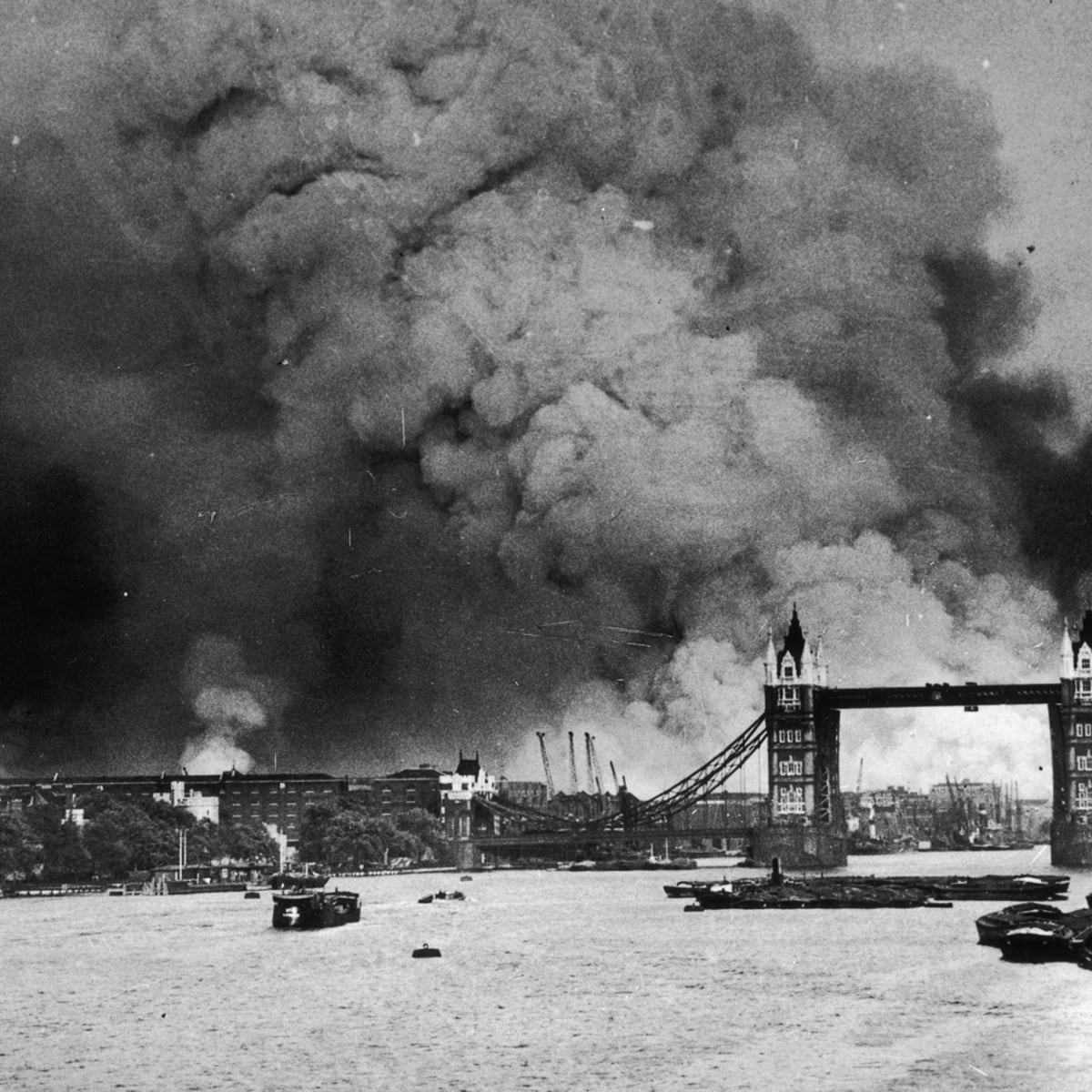The Blitz begins as Germany bombs London - HISTORY