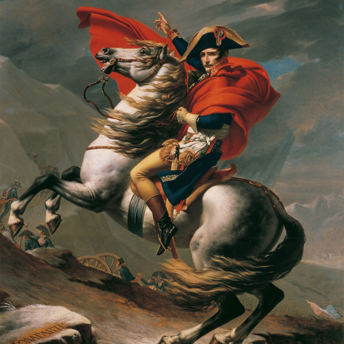 Napoleon S Legendary Steed Finds His Footing History