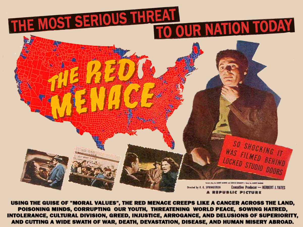 Red Scare Cold War Mccarthyism Facts History