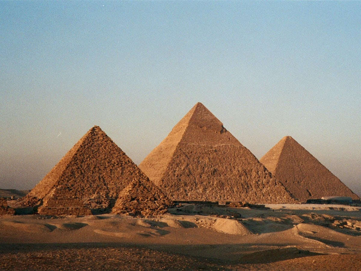 Of pyramids egypt names in The Pyramids