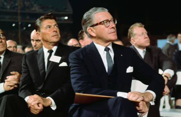 Reagan Endorses Barry Goldwater - HISTORY