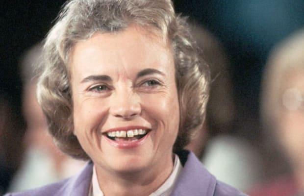 Sandra Day Oconnor Discusses Marriage History