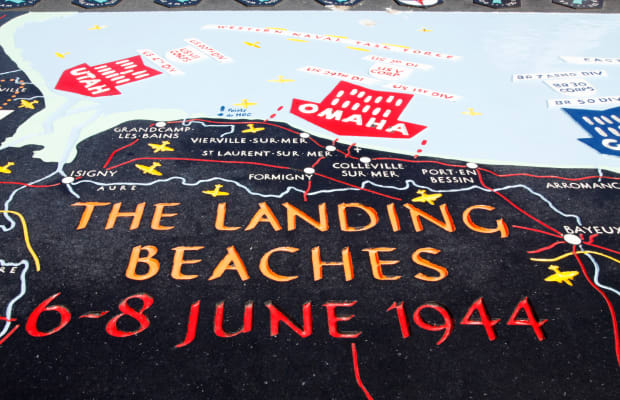 Landing At Normandy The 5 Beaches Of D Day History