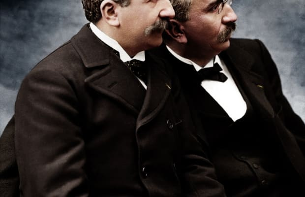 The Lumière Brothers, Pioneers of Cinema - HISTORY