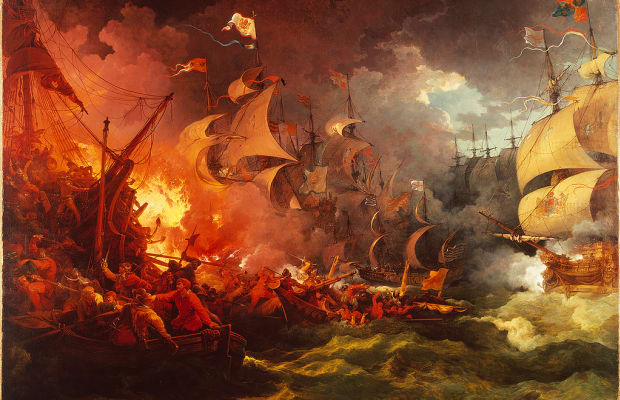 Image result for defeat of the spanish armada