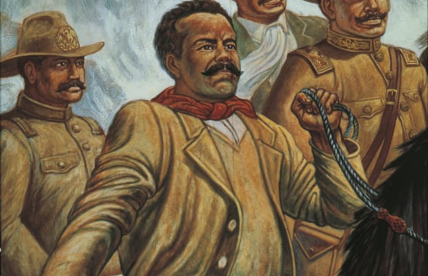 on what terms did pancho villa retire