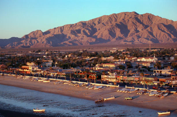 San Felipe In Early Morning