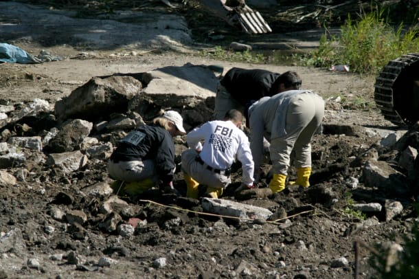 Feds Excavate Suspected Mob Graveyard