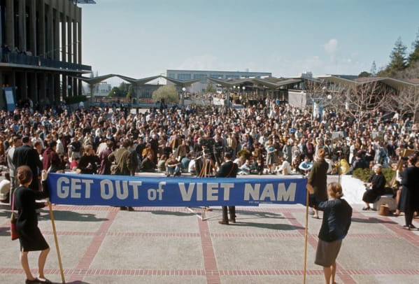 Womens March Against Vietnam War