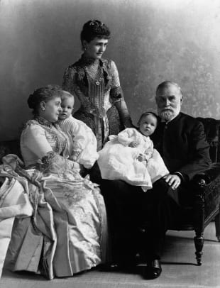 Caroline Harrison And Relatives