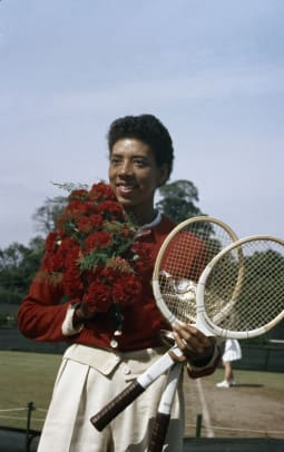 Althea Gibson Wins The French Open 2