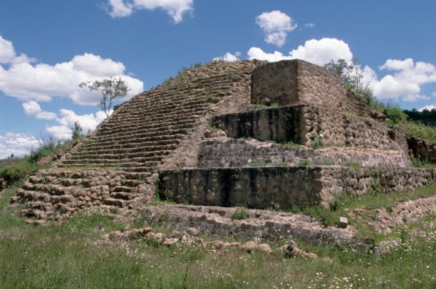 Ruins At Tlaxcala Mexico