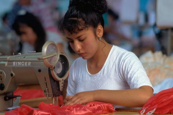 Lingerie Factory Seamstress