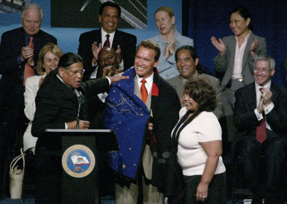 Governor Schwarzenegger Signs Re Negotiated Gaming Compacts With Five Indian Tribes