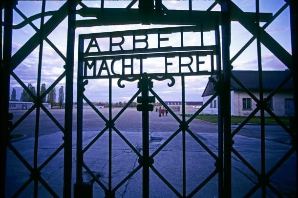 Entrance Gate To Dachau Concentration Camp 3