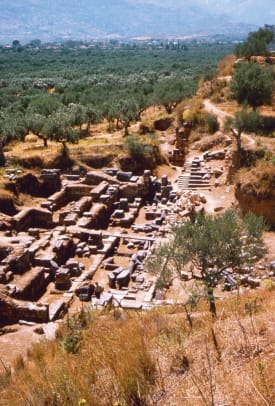 Archaeological Site Of Sparta