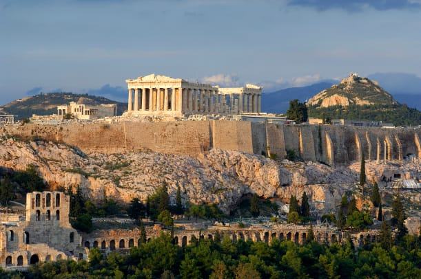 Greece Attica Athens Acropolis Listed As World Heritage By Unesco 2