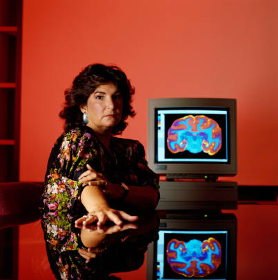 Neurologist Candice Pert And Cat Scan