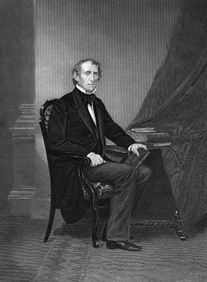 Portrait Of John Tyler 2