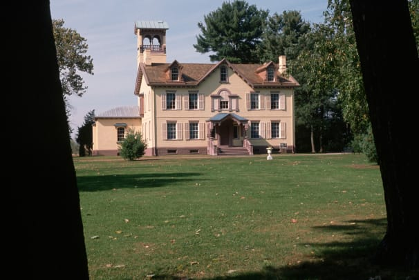 Lindenwald In Hudson River Valley