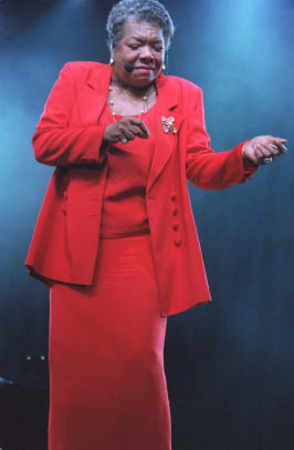 Maya Angelou Performs At Essence Music Festival