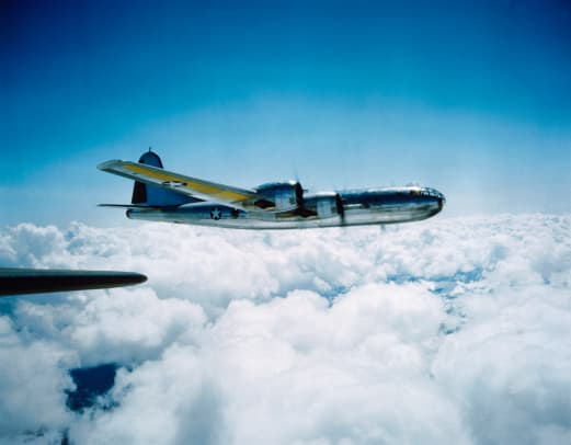 B 29 In Flight