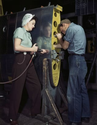 Wwii Female Defense Worker