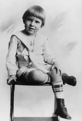 Richard M Nixon As Young Child
