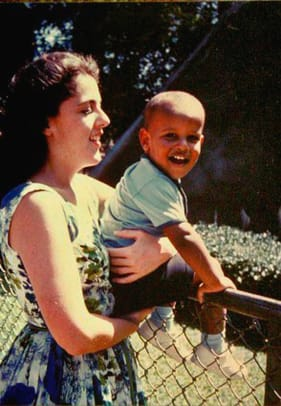 Usa Politics Barack Obama And His Mother Childhood Photo