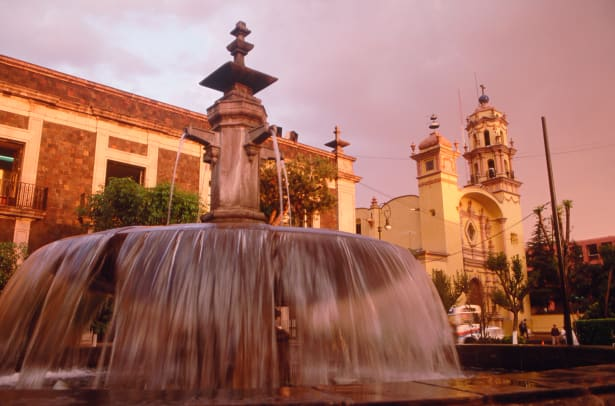 Fountain In Toluca