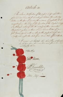 Treaty Of Paris 1783 2