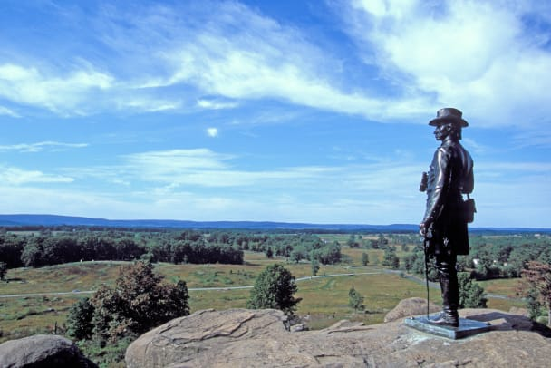 Statue At Gettysburg National Military Park 2