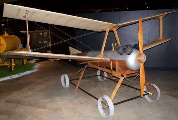 10-WWI Inventions-Drone-Kettering_Aerial_Torpedo_Bug_RFront_Early_Years_NMUSAF_14413288639
