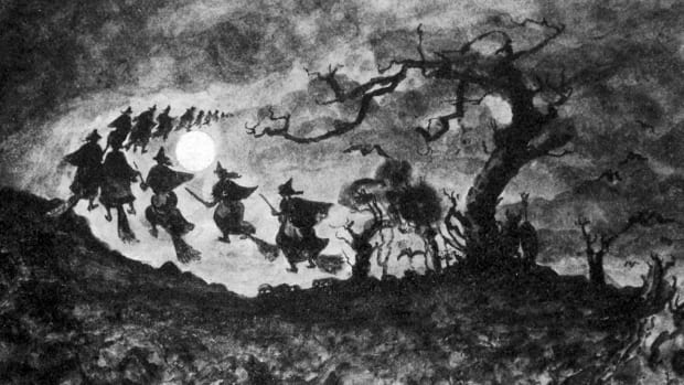 Halloween Folklore-Witches-Alamy-D86T0G