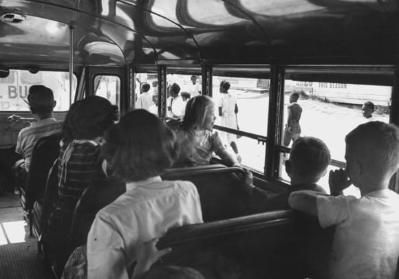 Desegregation Busing-GettyImages-50393237