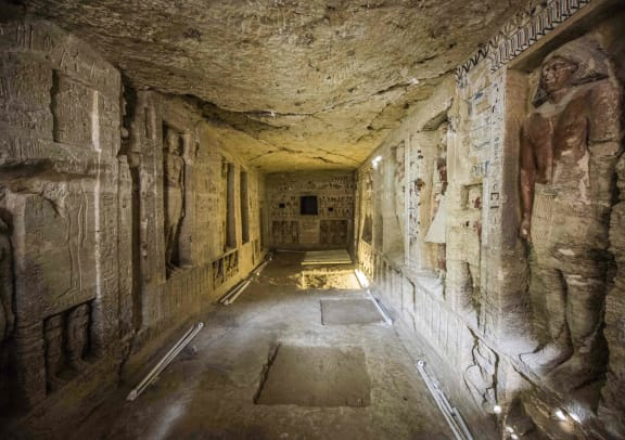 4400 Year Old Tomb-Ancient Egypt-GettyImages-1073556928