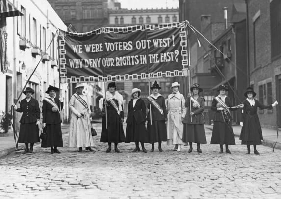 Womens Suffrage-GettyImages-514700294