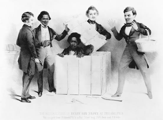 Henry-Box-Brown-Escaping-Slavery-GettyImages-615297748