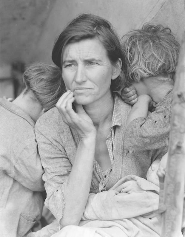 How Photography Defined The Great Depression - HISTORY