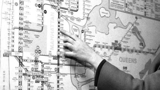 Nyc Subway Map Scan.The Great Subway Race Of 1967 History