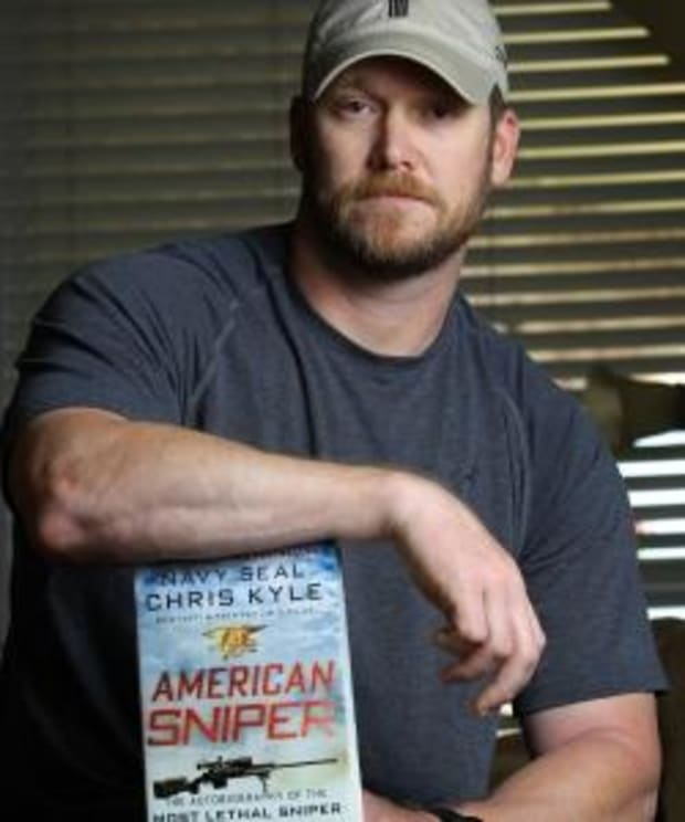 """The Real-Life Story Behind """"American Sniper"""" - HISTORY"""