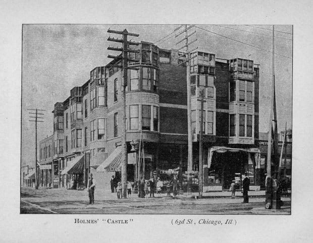 Murder Castle H H Holmes Chicago World S Fair Layout History