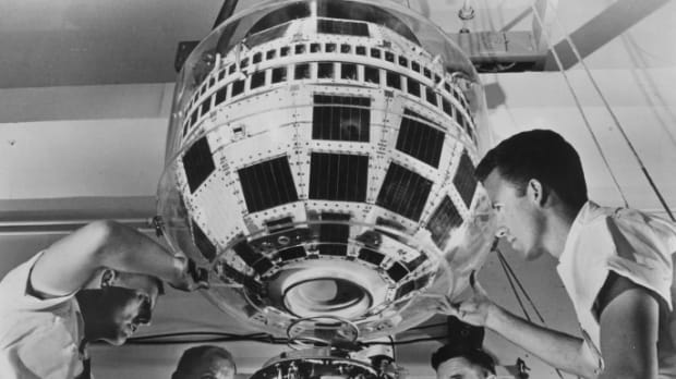 The Birth Of Satellite Tv 50 Years Ago History