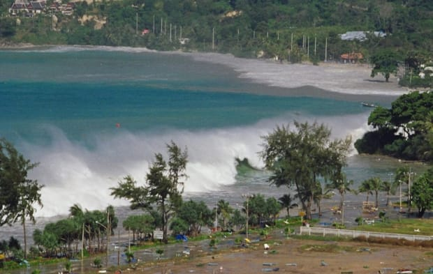 Christmas Tsunami.The 2004 Tsunami Wiped Away Towns With Mind Boggling