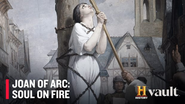 Joan Of Arc Is Burned At The Stake For Heresy History