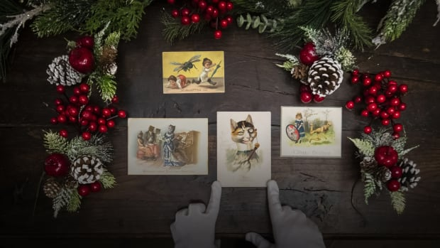 Some Of The Earliest Christmas Cards Were Morbid And Creepy History