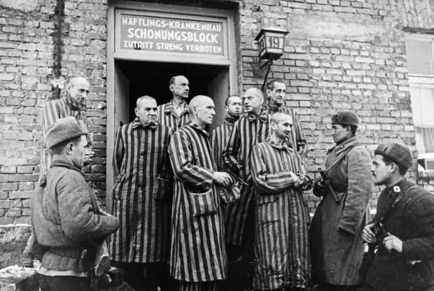 The Shocking Liberation of Auschwitz - HISTORY