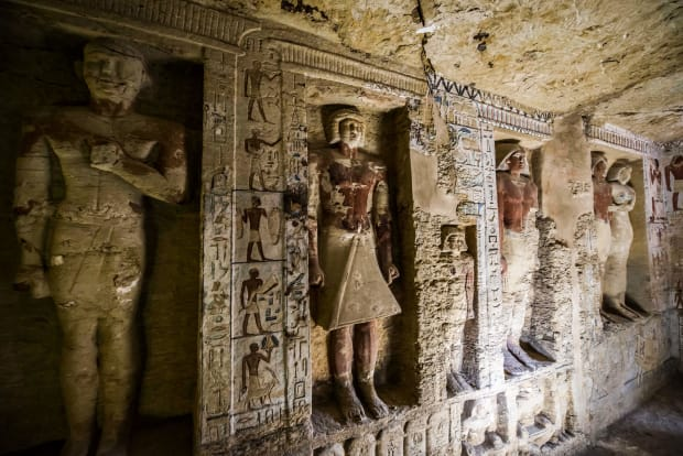 Look Inside the Pristine 4,400-Year-Old Tomb of an Egyptian
