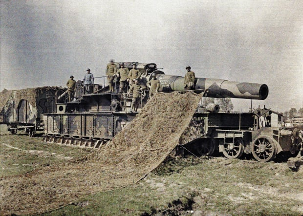 World War I In Color History