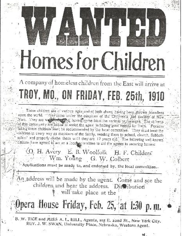 Orphan Trains' Brought Homeless NYC Children to Work On Farms Out West -  HISTORY